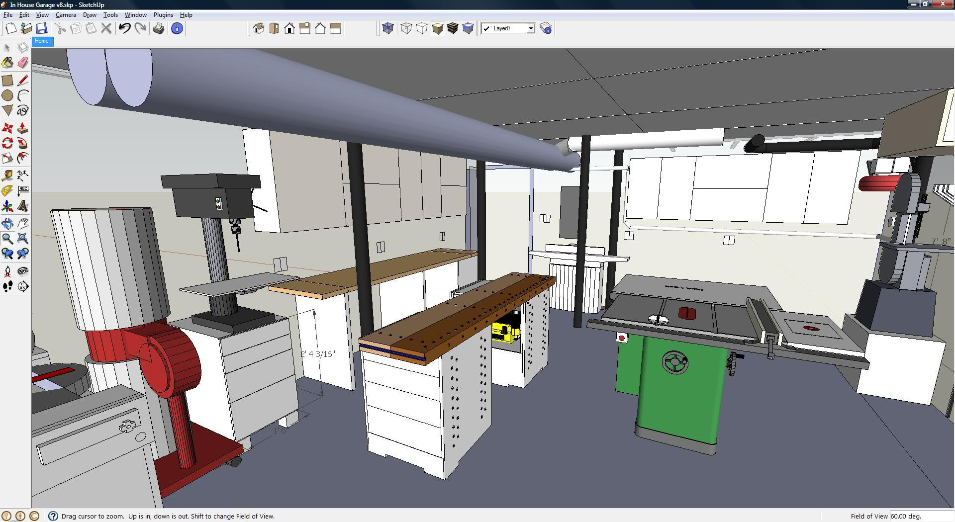 Sketchup secrets to know and enhance your 3d models for Online garage design tool